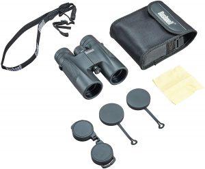 Jumelles-Bushnell-Powerview-10x42-accessoires